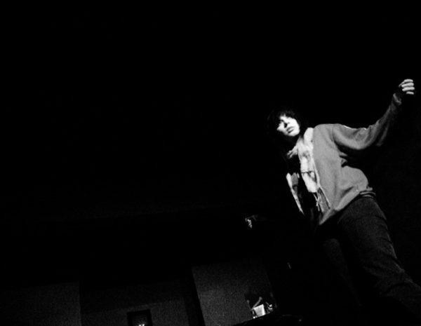 """Φωτογραφίες απο τις πρόβες των μονολόγων της Κατερίνας Γώγου """"Ιδιώνυμον"""" και """"Τρία κλικ αριστερά"""". Οι πρόβες πραγματοποιήθηκαν στο """"Μικρό Θέατρο"""", Ρέθυμνο.Ιανουάριος 2006 Pictures taken at various rehearsals of the monologues by Katerina Gogou 'Idionymon' and 'Three clicks to the left'. The rehearsals took place at 'Mikro Theatro', Rethymno, Greece. January 2006"""